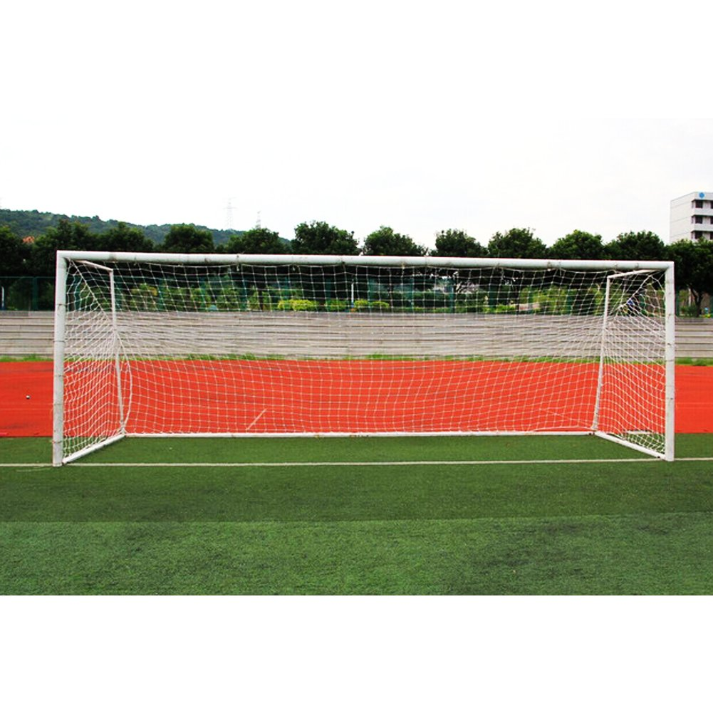 Soccer goal net、サッカーReplacement Net標準サイズ10 x 7 ft / 18 x 7 ft / 24 x 8 ft for Feild一致 B077PNNLQ6 24*8ft-11 People|ホワイト ホワイト 24*8ft-11 People