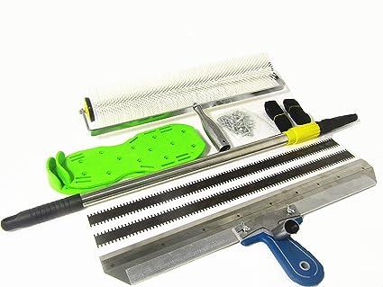 KUNHEWUHUA Cement Self-leveling Kit Floor Paint Roller Blade
