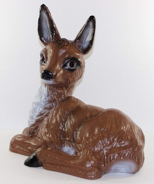 RAKSO Deko Garten Figur Dekofigur Gartenfigur Tierfigur Schnecke aus Kunststoff H/öhe 18 cm