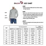 BALEAF Men's Hoodie UPF 50+ Sun Protection Long