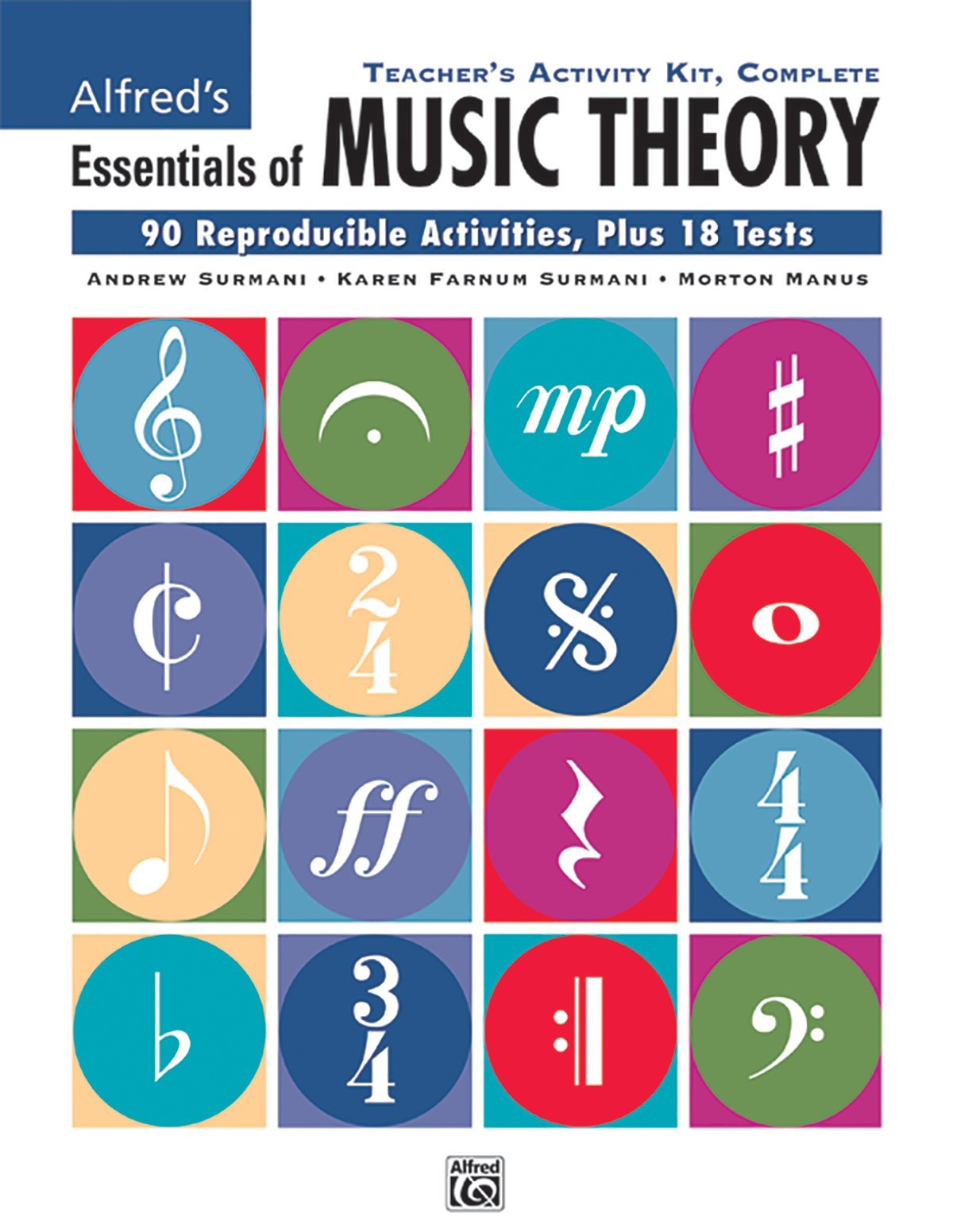 Alfred's Essentials of Music Theory: Complete Teacher's Activity ...