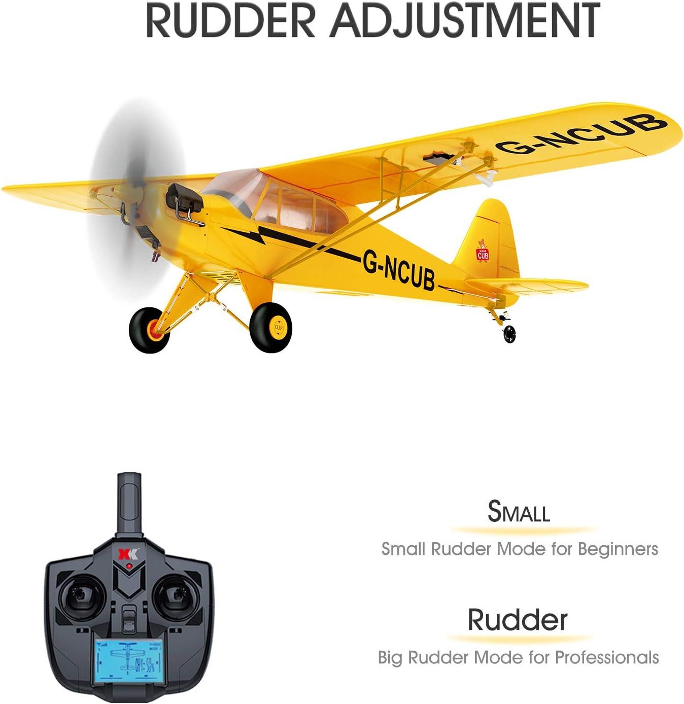 Goolsky Avion t/él/écommand/é FX815 RC pr/êt /à voler 2,4 GHz 2 canaux en mousse EPP Mod/èle davion pour enfants et adultes