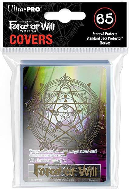 Ultra Pro Force of Will Protector Sleeve Covers Moonbreezes Memoria Promo 65