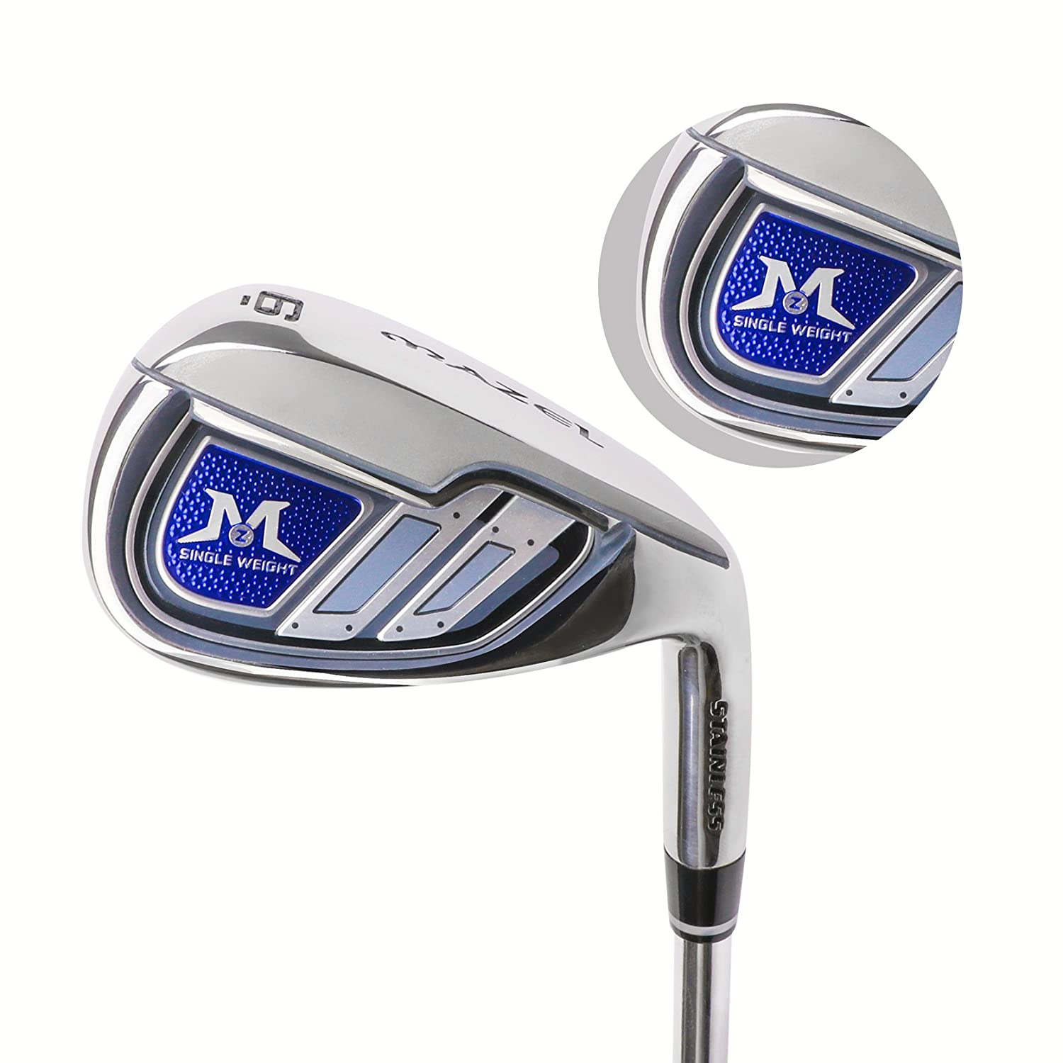 Mazel Golf Iron Set Golf Club Iron Para Hombres De Una Sola ...