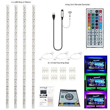 Topled Light® LED TV USB Backlight Light Kit,Computer RGB LED Light Strip  Mini