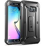 Coque Samsung Galaxy S6 Edge , SUPCASE [Unicorn Beetle PRO Series] avec clip pour la ceinture étui . Housse pour la protection complete. Résistant aux chocs