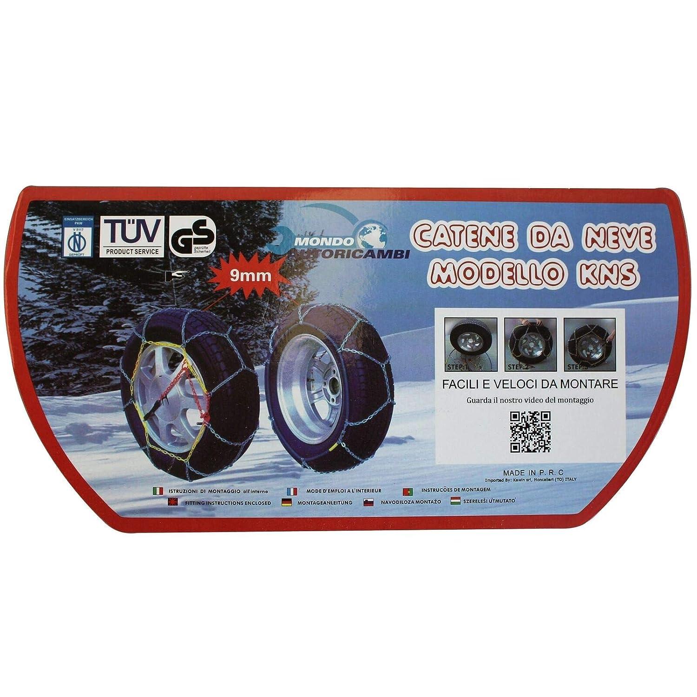 Kawin Catene da Neve OMOLOGATE 235 45 18 V5117 235//45-18 9mm R18