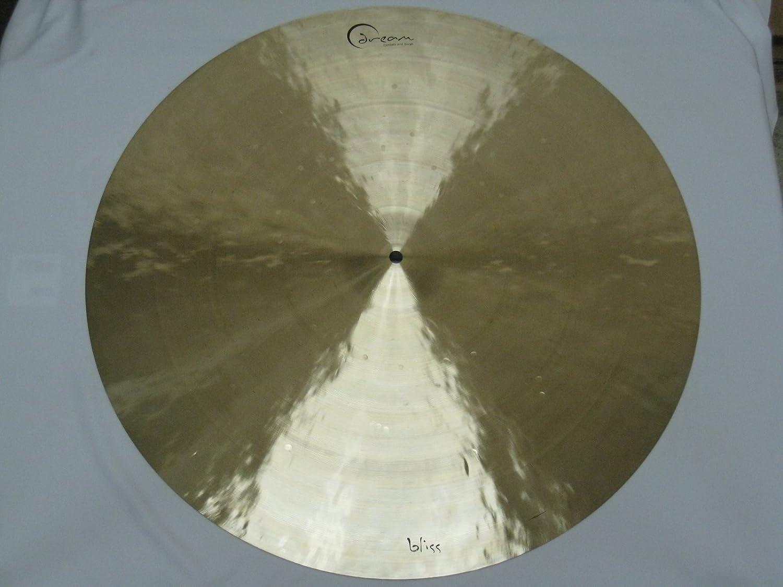 "Dream Cymbals & Gongs Bliss 24"" Small Bell Flat Ride B00886XQVI"