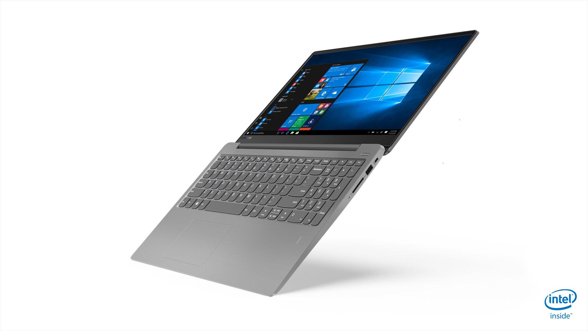 "Lenovo 15.6"" Ideapad 330S HD Performance Laptop (Intel Quad-Core i7-8550U CPU,8GB RAM,128GB SSD (boot),1TB HDD,WiFi,HDMI, USB-C, Webcam,SD Reader,Microfiber Clothes included, Windows 10) Platinum Grey"