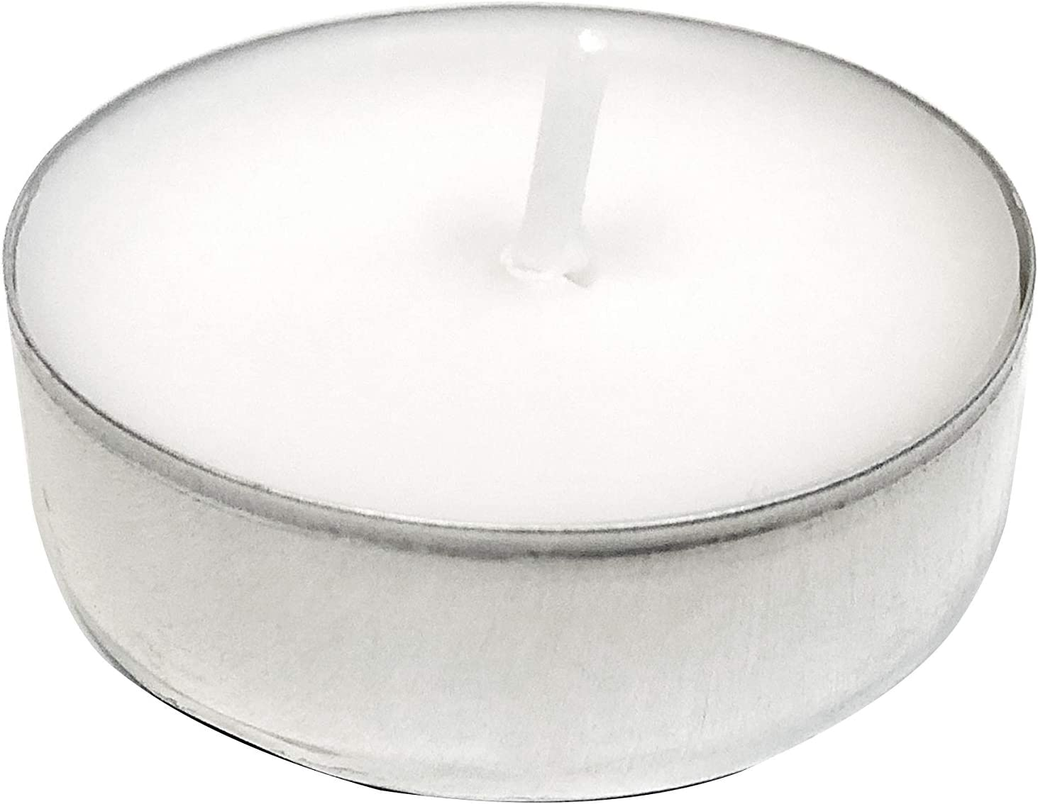AmazonBasics Unscented Tealight Candles, 200-Pack