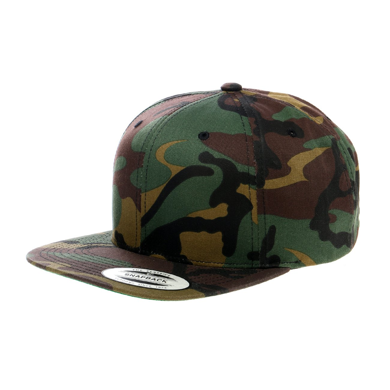 Amazon.com  The Classic Special Edition Camo Flexfit Snapback 6089M - Limited  Edition  Clothing 502793937cbb