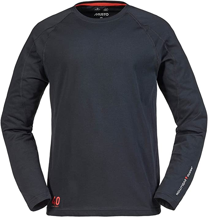Musto Evolution Logo Long Sleeve tee in Black SE1550 Sizes- - Xsmall: Amazon.es: Deportes y aire libre