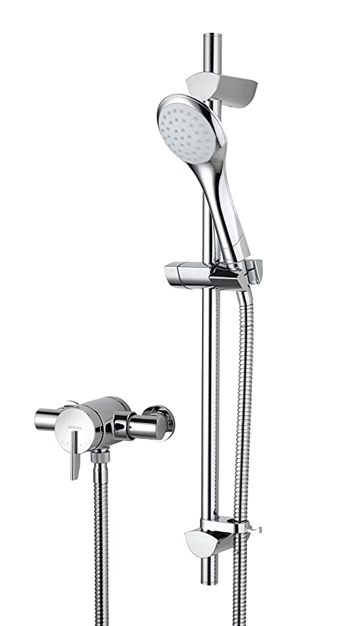 Bristan SOQ2 SHXAR C Sonqiue 2 Thermostatic Surface Mounted Shower ...