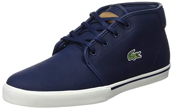 94d96ba39aab Amazon.com  Lacoste Men s Ampthill 119 1 Leather Trainers