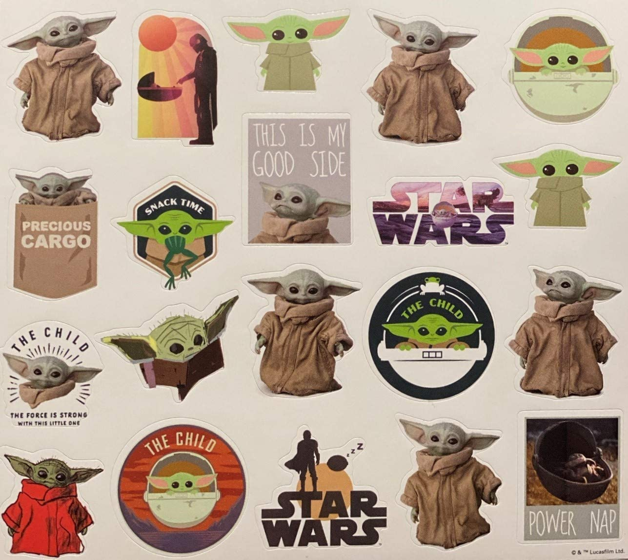 The Mandalorian Baby Yoda Multi Color Trends International Star Wars