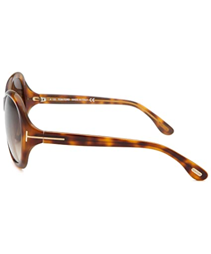ed49fa0bc14 Tom Ford Cecile TF171 FT0171 56F Havana 58mm Sunglasses  Amazon.ca   Clothing   Accessories