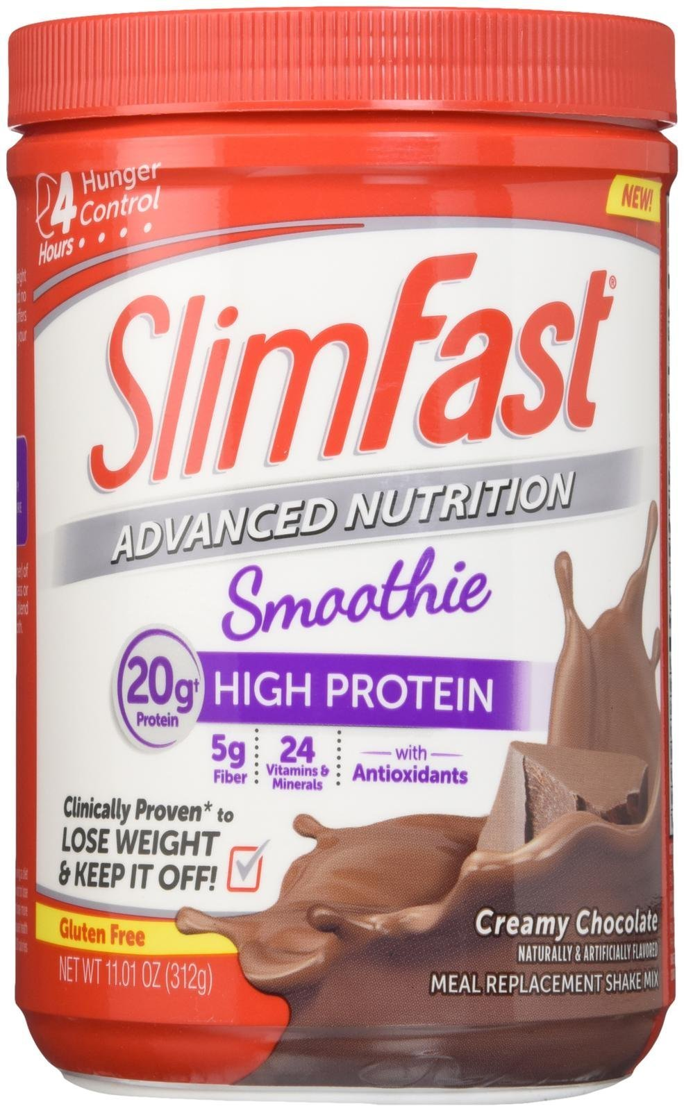 SLIMFAST ADVANCED ENERGY MOCHA CAPPUCCINO MEAL REPLACEMENT