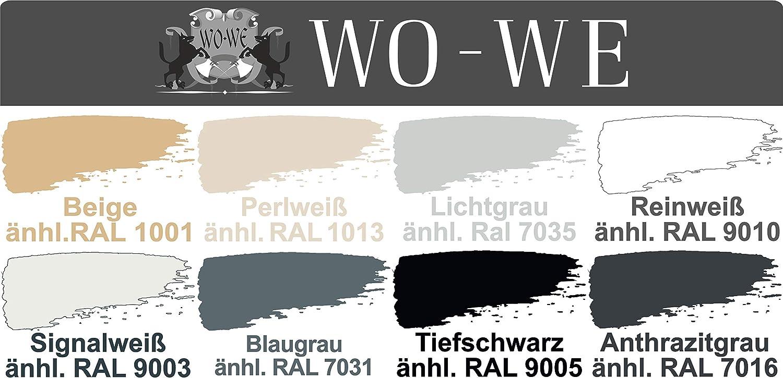 Fliesenlack Fliesenfarbe Wandfliesen Wo We W713 Licht Grau ähnl Ral 7035 1l Baumarkt