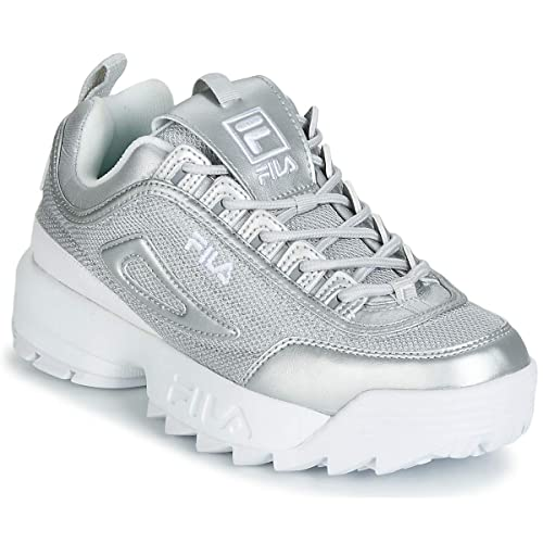 Disruptor MM Low WMN Silver 1010607 3VW: Amazon.co.uk: Shoes