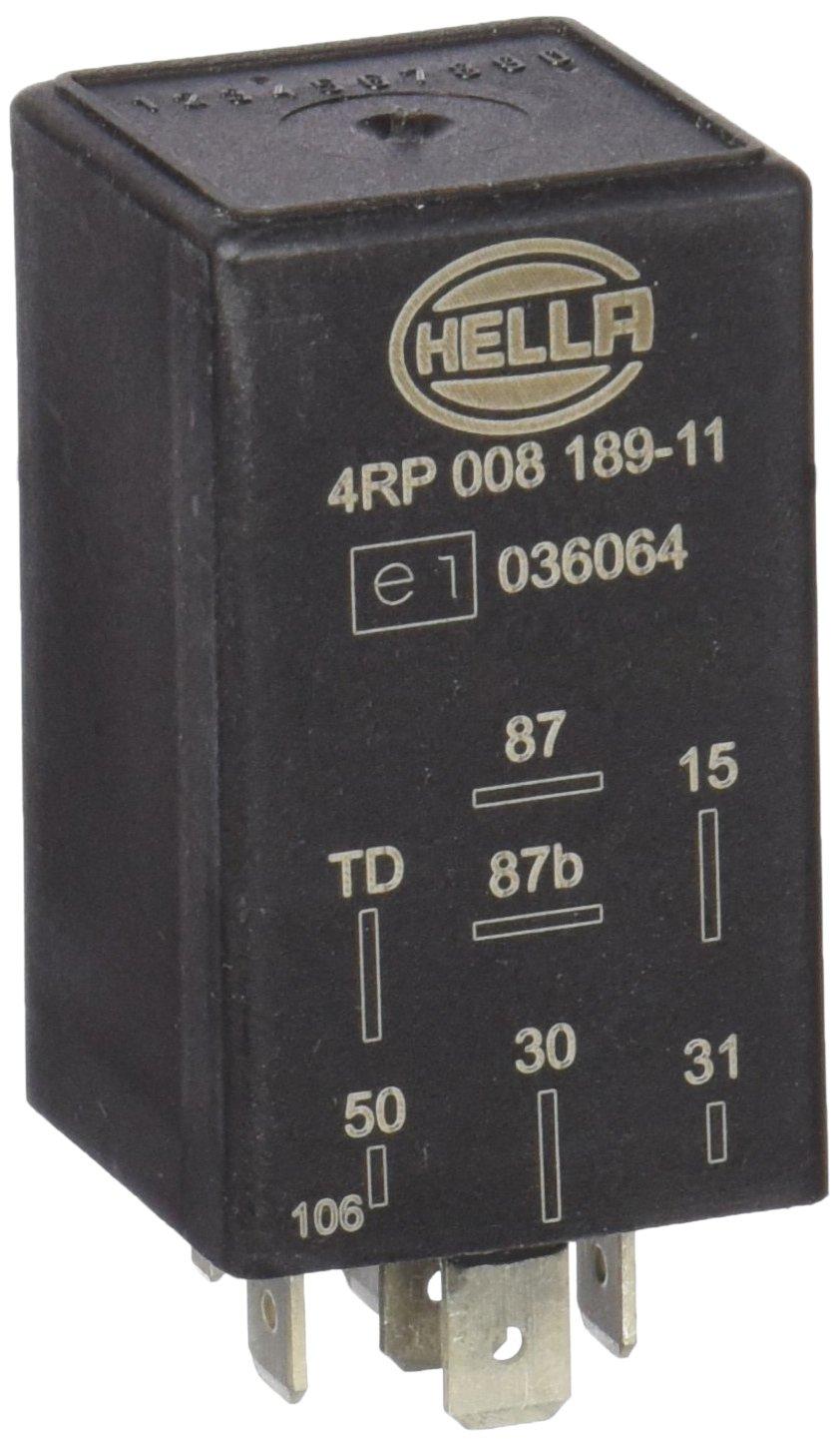 HELLA 4RP 008 189-111 Relais pompe /à carburant 12V