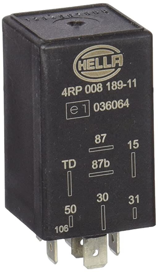 HELLA 4RP 008 189-111 Relé, bomba de combustible, 12V: Amazon.es: Coche y moto