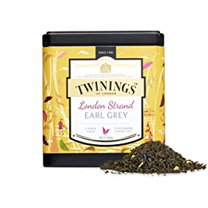 Twinings Tea - Discovery Collection - London Strand Earl Grey - 100gr / 3.52oz Caddy Loose Tea