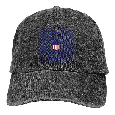 Us-Coast-Guard Gorra de béisbol Ajustable para Hombre y Mujer ...