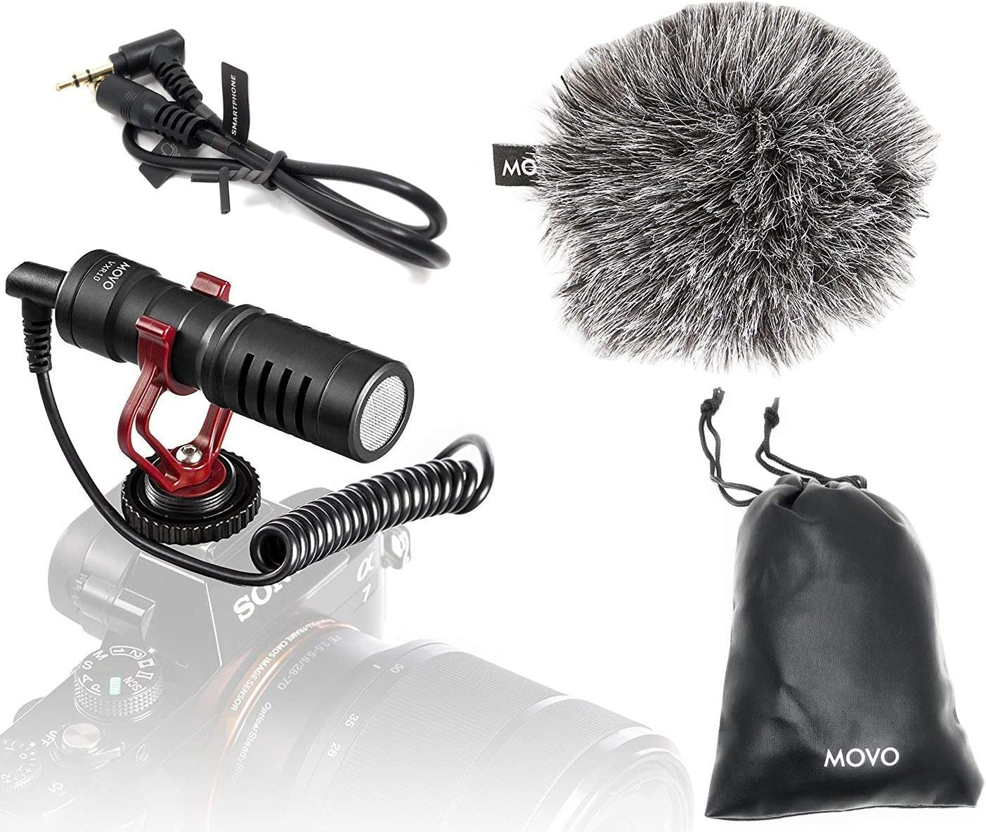Movo VXR10 Universal Video Microphone