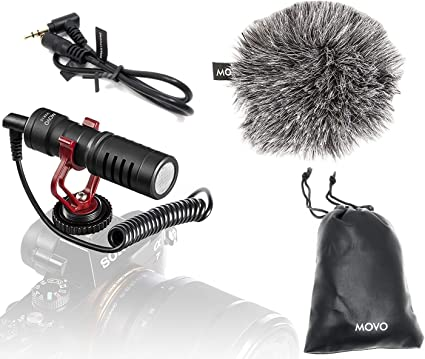 Universal Video Mic With Shock Mount