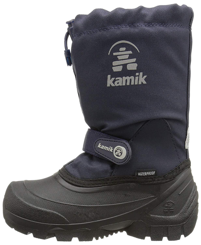 Kamik Snoday Insulated Winter Boot (Toddler/Little Kid/Big Kid), Dark Navy, 12 M US Little Kid by Kamik (Image #1)