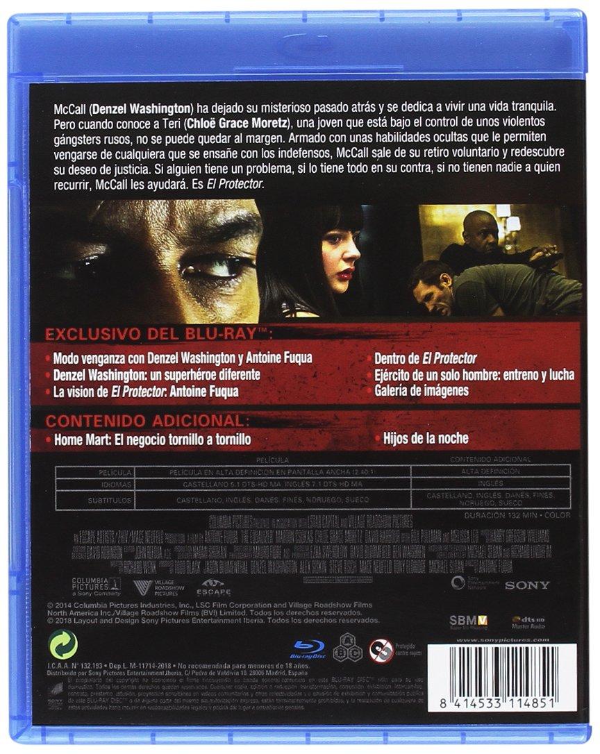 Equalizer: El Protector 2018 [Blu-ray]: Amazon.es: Denzel Washington, Pedro Pascal, Antoine Fuqua, Denzel Washington, Pedro Pascal, Columbia Pictures: Cine y Series TV