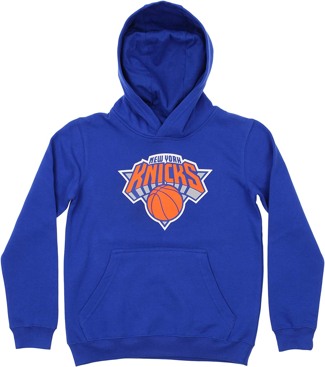 OuterStuff NBA Youth Boys 8-20 Team Variation Primary Logo Team Color Fleece Hoodie