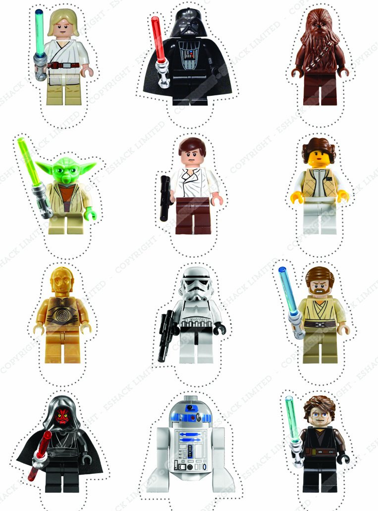 deco lego star wars. Black Bedroom Furniture Sets. Home Design Ideas