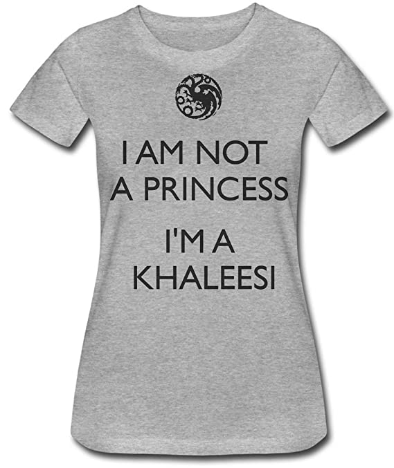 Finest Prints Im Not A Princess Im Khaleesi Camiseta para Mujer ...