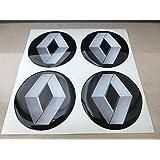 GTB Tuning - 4 adhesivos resinados con efecto 3D, 3M de 50 mm, color
