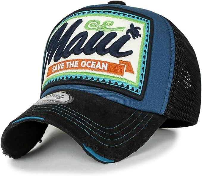 ililily Authentic Most Modern Vintage Distressed Mesh Trucker Hat Baseball Cap