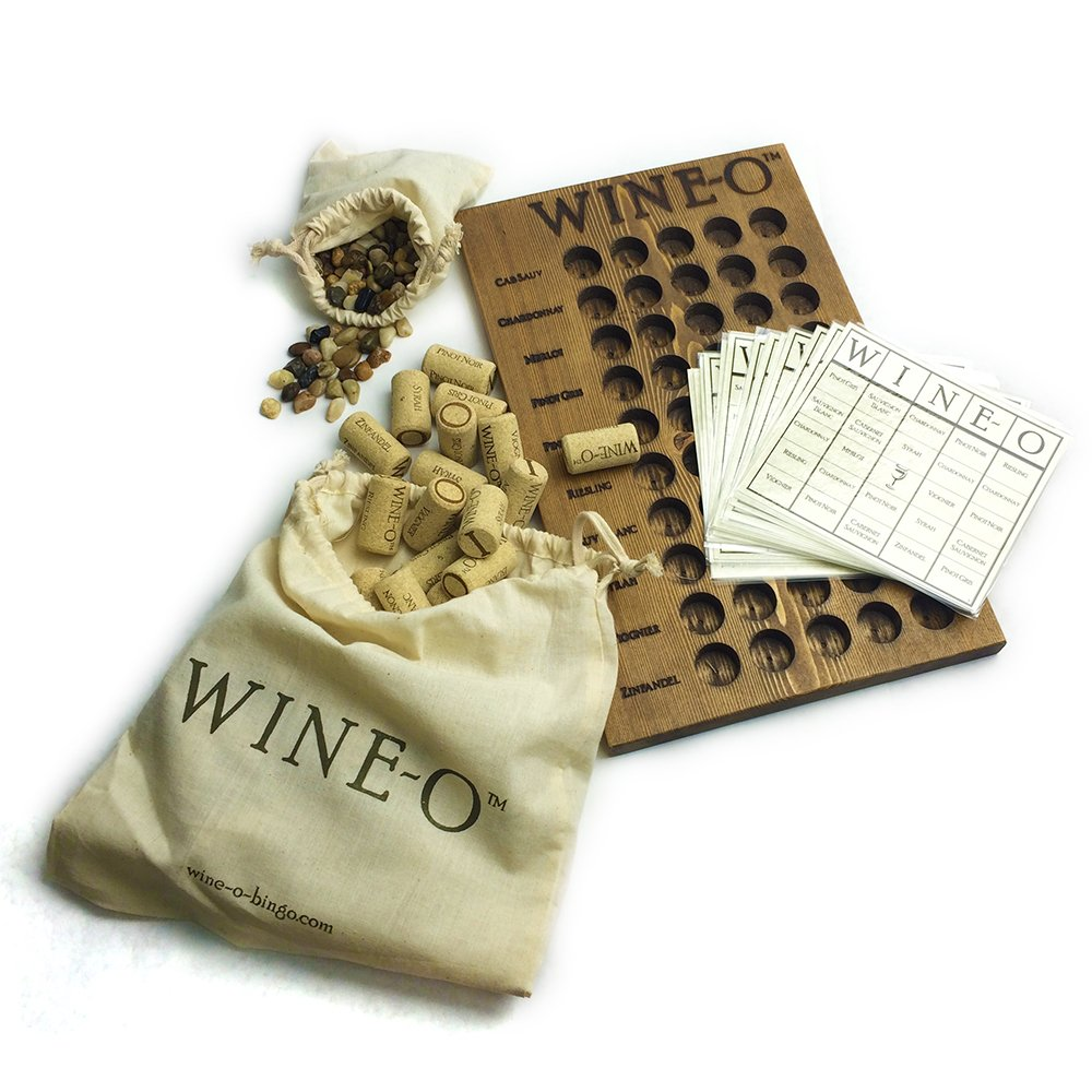 Wine-o®, Bingo for Wine Lovers®, a Unique Wine Game and Perfect Gift for Wine Lovers by Wine-O®, Bingo for Wine Lovers®