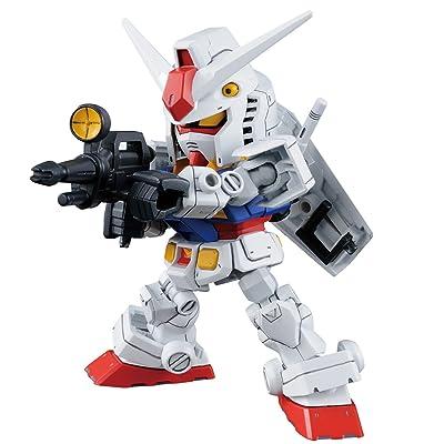 "Bandai Hobby SD Gundam RX-78-2 Gundam & Cross Silhouette Frame ""Mobile Suit Gundam"": Toys & Games"