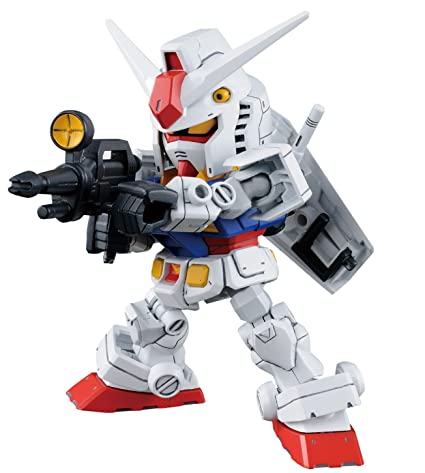 Bandai Hobby SD Gundam RX-78-2 Gundam & Cross Silhouette Frame