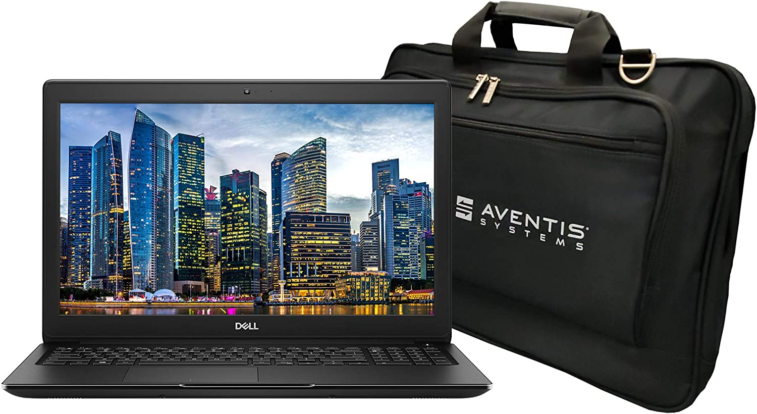 2020 Dell Latitude 3500 15.6 Inch FHD Laptop Bundle with Intel Core i7-8565U, 8GB DDR4, 256GB SSD, GeForce MX130 Graphics Card, Laptop Bag, Webcam, Microphone, Bluetooth, and Windows 10 Pro