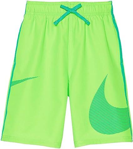 d1ba5c9e93 Amazon.com : Nike Boy's Macro Logo Diverge Swim Trunks : Sports ...