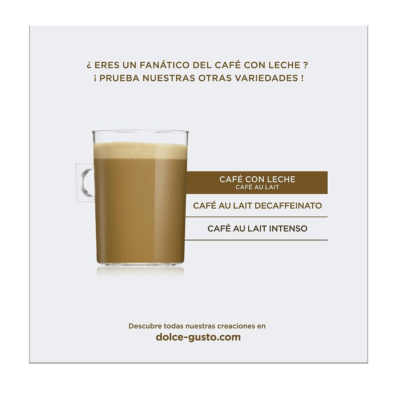 NESCAFÉ Dolce Gusto Café con Leche | Pack de 16 Cápsulas: Amazon.es: Amazon Pantry