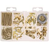 Hillman 591525 Medium Picture Hanger Assortment Kit, 200-Pack