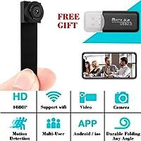 WiFi Hidden Spy Camera, 1080P Wireless Mini Camera Nanny Cam Home Security Covert Camera Motion Detection