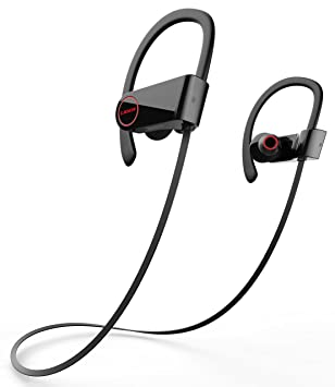 Auriculares Bluetooth, Liger BLAZE inalámbrica Bluetooth 4.1 auriculares cancelación de ruido, ajuste seguro y