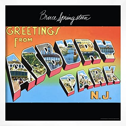 Amazon bruce springsteen greetings from asbury park nj bruce springsteen greetings from asbury park nj framed poster m4hsunfo