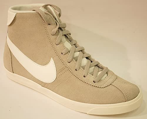 Nike Mujer Calz. Baloncesto Bruin Lite Mid 543259 Piel Botas ...