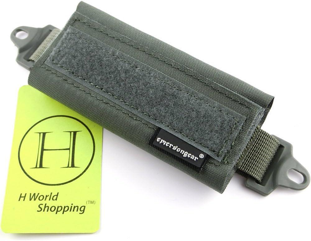 H World Shopping Emerson Pochette /à batterie et poids d/'/équilibrage pour casque tactique OPS FAST BJ PJ MH
