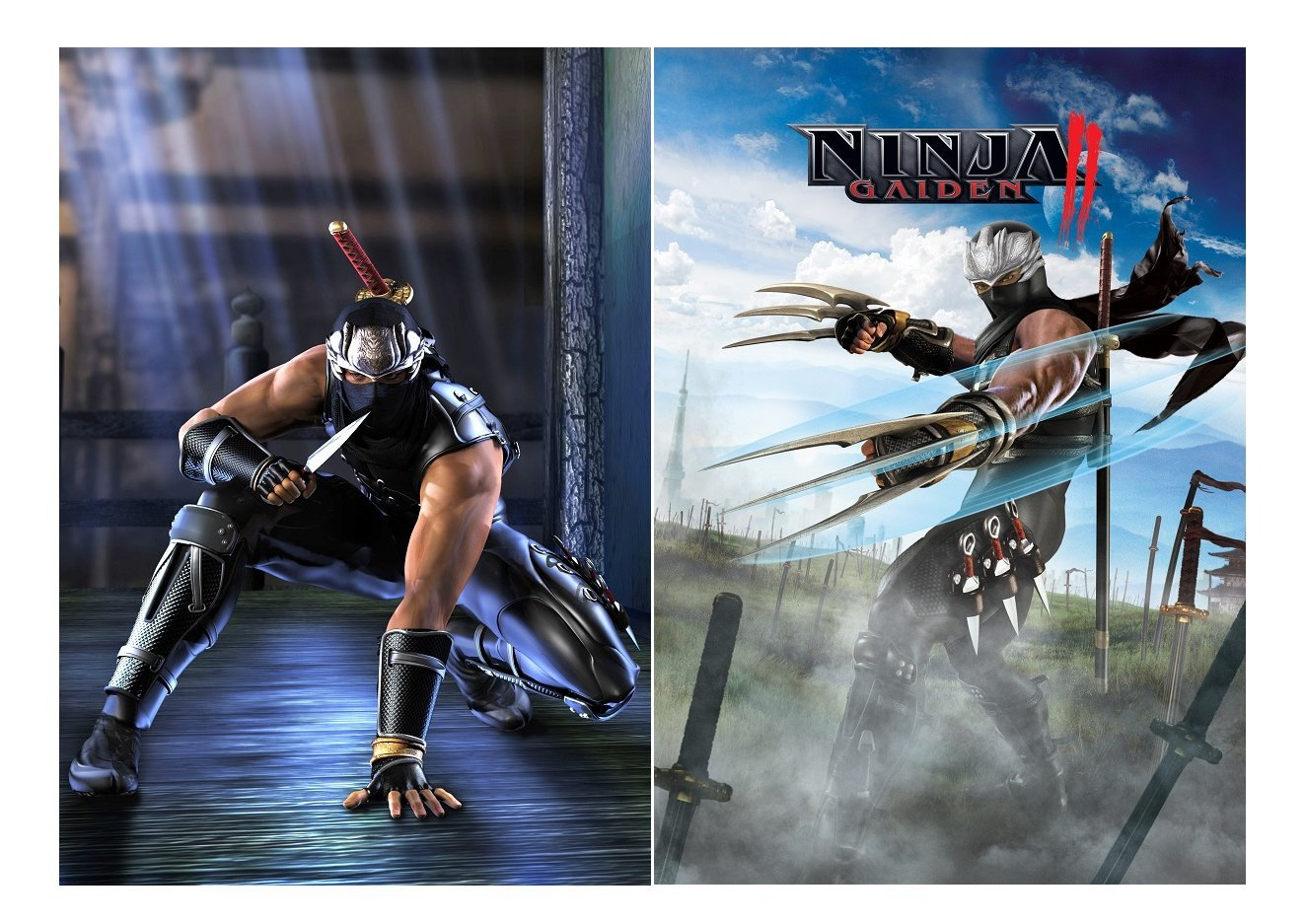 Set of 2 Ninja Gaiden Posters [Importación Inglesa]: Amazon ...