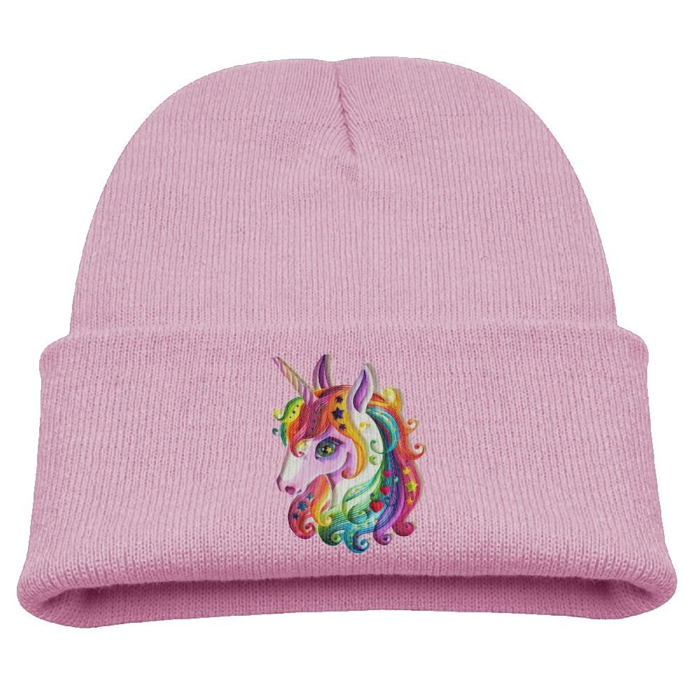 Amazon.com  Kids Beanie Hat Beautiful Unicorn Hiphop Skull Hat for  Boys Girls  Clothing ebb4dfe54bc